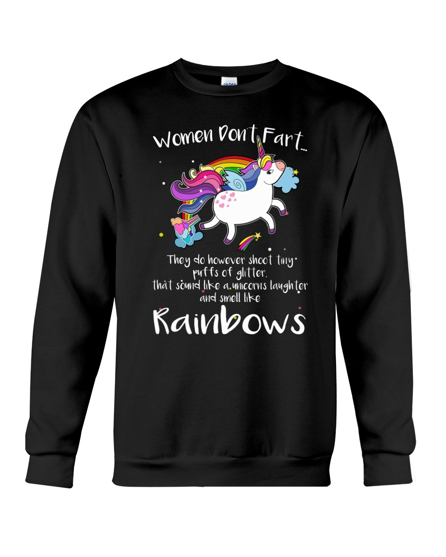 Unicorn Rainbown Crewneck Sweatshirt