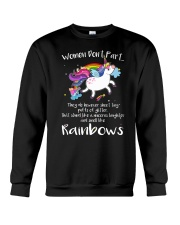 Unicorn Rainbown Crewneck Sweatshirt front