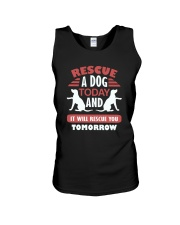 Apollo Rescue A Dog Today Unisex Tank tile
