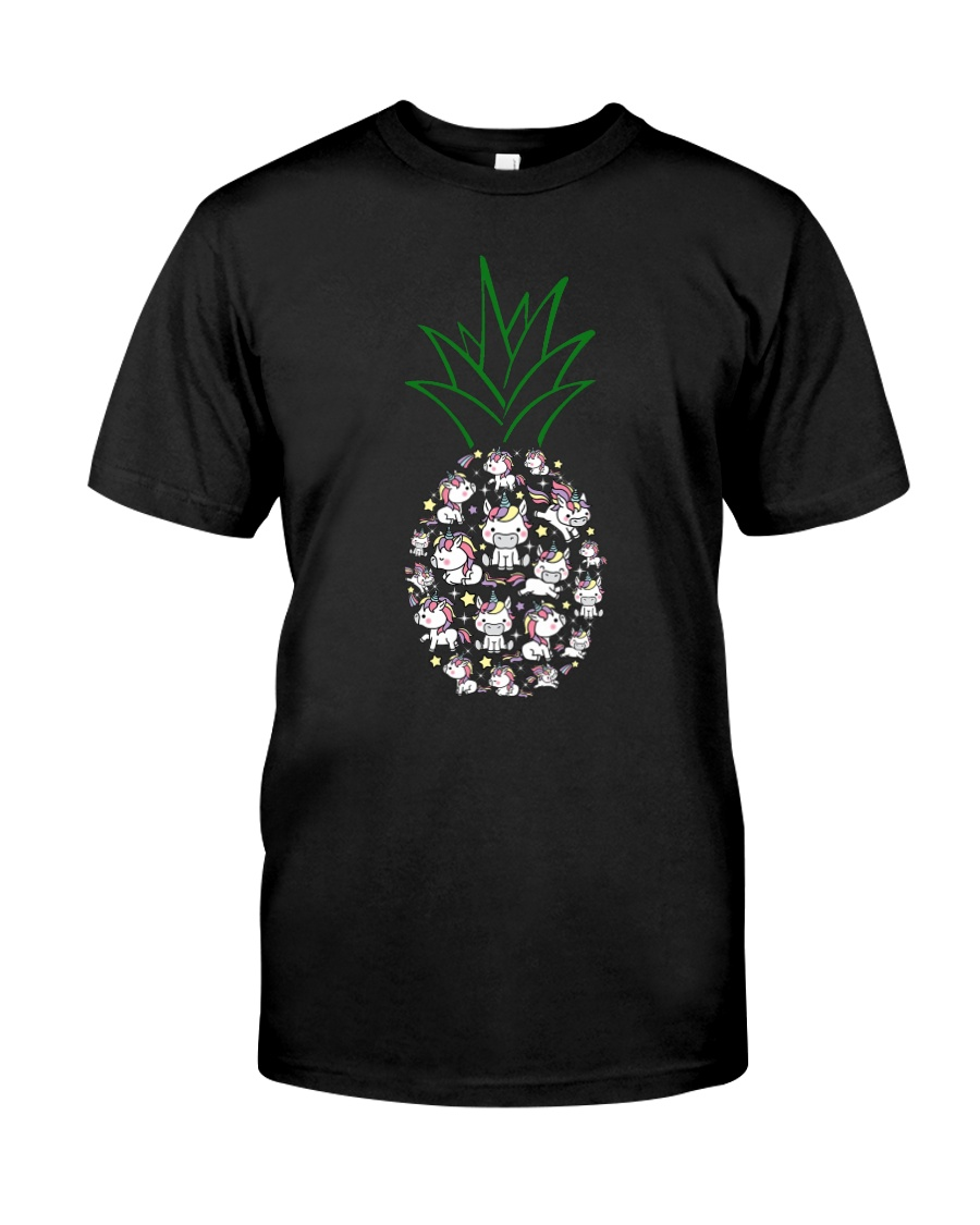 Unicorn Pineapple 1107 Classic T-Shirt