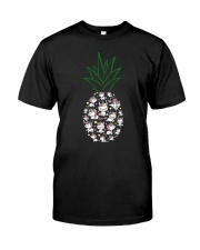 Unicorn Pineapple 1107 Classic T-Shirt front
