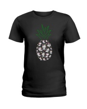 Unicorn Pineapple 1107 Ladies T-Shirt thumbnail