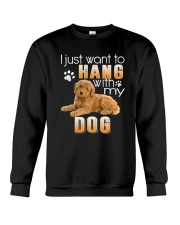 Poodle My Dog Crewneck Sweatshirt thumbnail