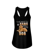 Poodle My Dog Ladies Flowy Tank thumbnail