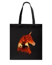 Unicorn Autumn Tote Bag thumbnail