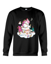 Funny Unicorn Christmas 0409 Crewneck Sweatshirt thumbnail