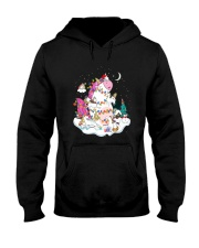 Funny Unicorn Christmas 0409 Hooded Sweatshirt thumbnail