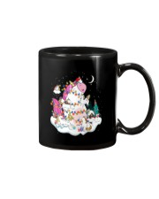 Funny Unicorn Christmas 0409 Mug tile