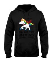 Unicorn Power  Hooded Sweatshirt thumbnail