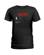 Greyhound - I owe you Mom 1806P Ladies T-Shirt thumbnail