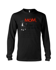 Greyhound - I owe you Mom 1806P Long Sleeve Tee thumbnail