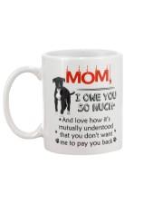 Greyhound - I owe you Mom 1806P Mug back