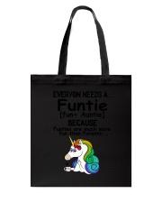 Unicorn Funtie Tote Bag thumbnail