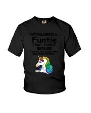 Unicorn Funtie Youth T-Shirt thumbnail