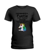 Unicorn Funtie Ladies T-Shirt thumbnail
