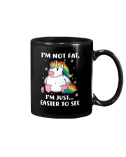 Unicorn not fat 0811 Mug thumbnail