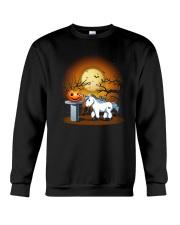 Unicorn and pumpkin Crewneck Sweatshirt thumbnail