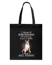 Bull Terrier Boyfriend 2006 Tote Bag tile