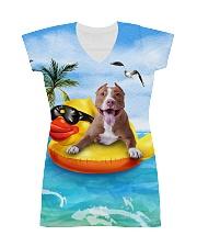 American Pit Bull Terrier Summer  All-over Dress thumbnail