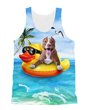 American Pit Bull Terrier Summer  All-over Unisex Tank front