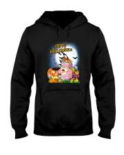 Unicorn Happy Halloween Hooded Sweatshirt thumbnail