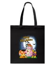Unicorn Happy Halloween Tote Bag thumbnail