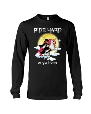 Unicorn and Witch Long Sleeve Tee thumbnail