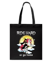 Unicorn and Witch Tote Bag thumbnail