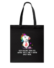 Unicorn Rolling eyes 1311 Tote Bag thumbnail