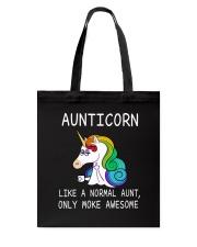 Aunticorn Tote Bag thumbnail