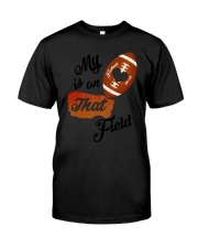 Football - My heart is on that field 1906L Classic T-Shirt thumbnail