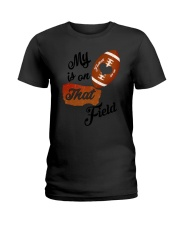 Football - My heart is on that field 1906L Ladies T-Shirt thumbnail