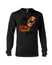 Football - My heart is on that field 1906L Long Sleeve Tee thumbnail