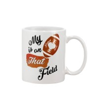 Football - My heart is on that field 1906L Mug front