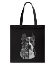 American Pit Bull Terrier - Your friend 2006L Tote Bag thumbnail
