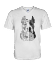 American Pit Bull Terrier - Your friend 2006L V-Neck T-Shirt thumbnail