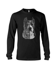 American Pit Bull Terrier - Your friend 2006L Long Sleeve Tee thumbnail
