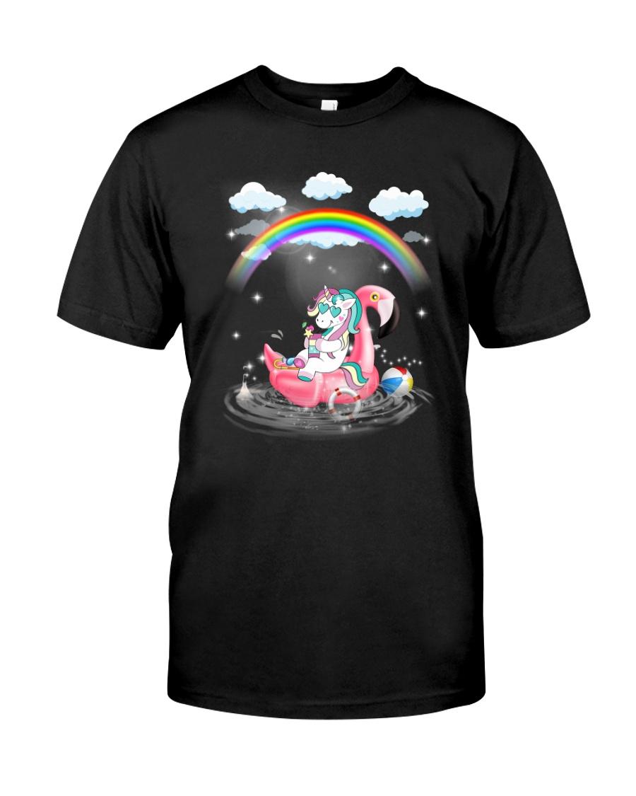 Flamingo Unicorn Classic T-Shirt