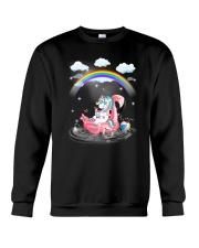 Flamingo Unicorn Crewneck Sweatshirt thumbnail