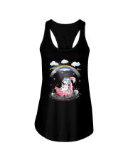 Flamingo Unicorn Ladies Flowy Tank thumbnail