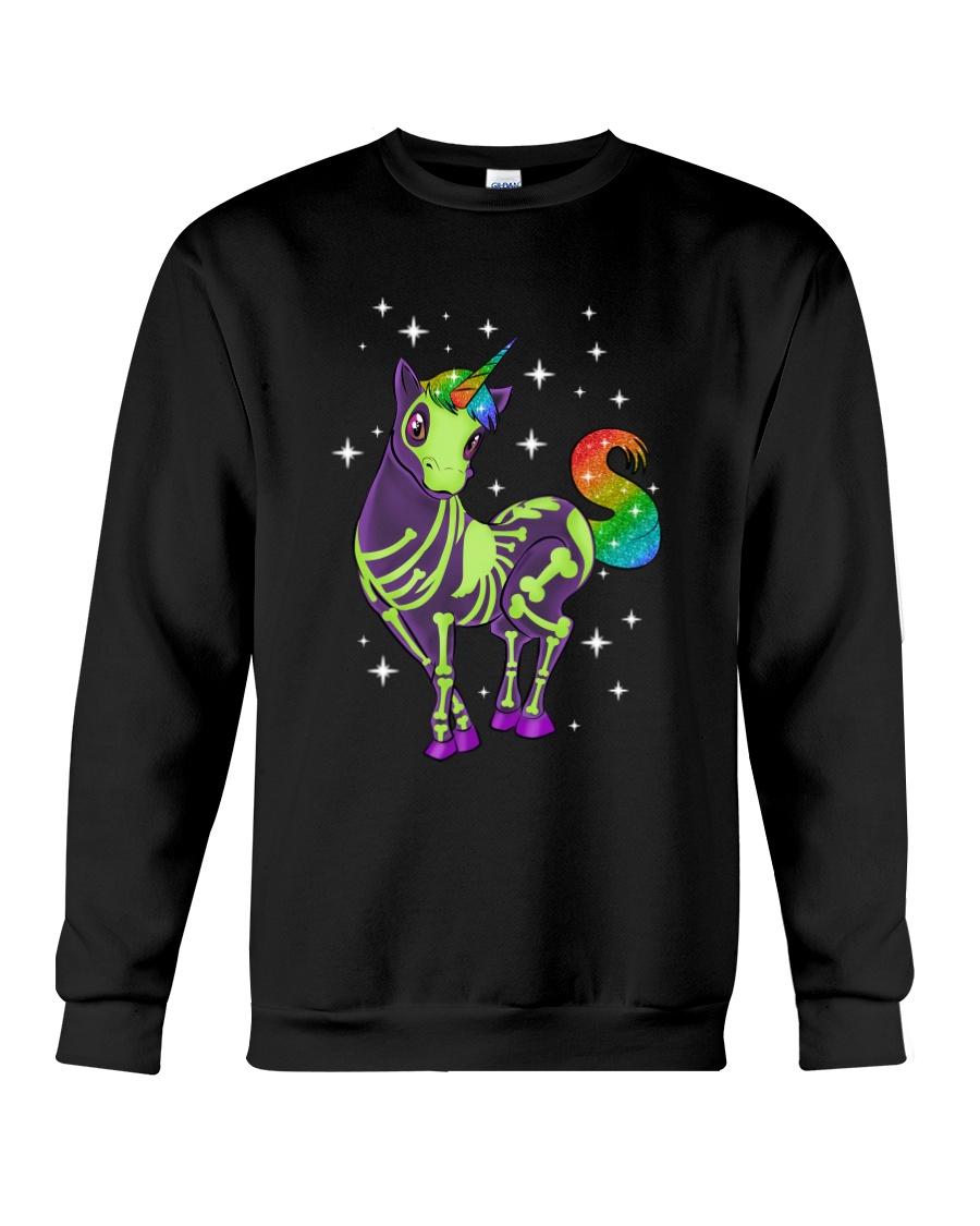 Unicorn Skeleton 2712 Crewneck Sweatshirt