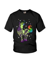 Unicorn Skeleton 2712 Youth T-Shirt thumbnail