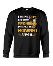 Apollo Beer Punching Crewneck Sweatshirt thumbnail