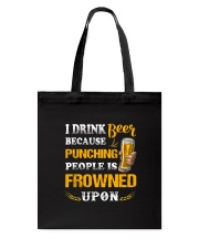 Apollo Beer Punching Tote Bag thumbnail