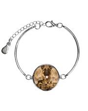 German Shepherd Great 1506 Metallic Circle Bracelet thumbnail