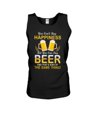 Beer Buy Happiness Unisex Tank thumbnail