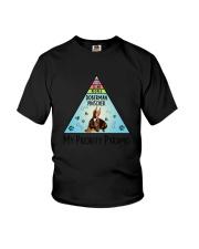 Doberman Pinscher Pyramid 1806 Youth T-Shirt thumbnail
