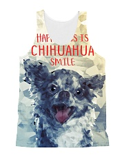 Chihuahua Smile 1506 All-over Unisex Tank front