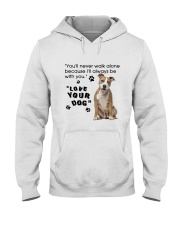 American Staffordshire Terrier With You Hooded Sweatshirt thumbnail