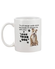 American Staffordshire Terrier With You Mug back